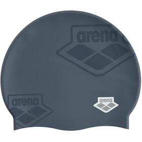 arena Team Stripe Flat Cap, grijs
